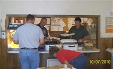 We 'fed the farmers' during harvest -- October 2010