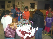 Lots of kids stopped by -- November 2010