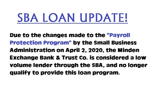 SBA loan update